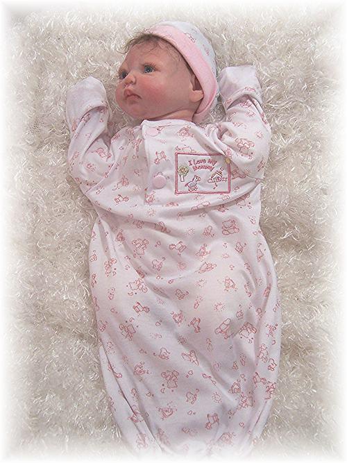 "Reborn Doll  17""-19"" Bag Sleeper Pink"