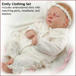 Reborn Doll 5 peice outfit Emely