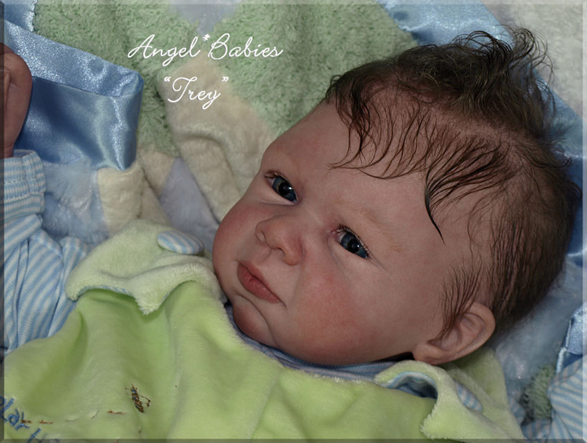 Reborn Doll Kit Trey by Michel Fagan